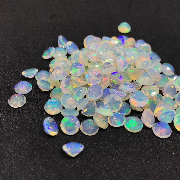 Ethiopian Opal 6 MM Round Faceted