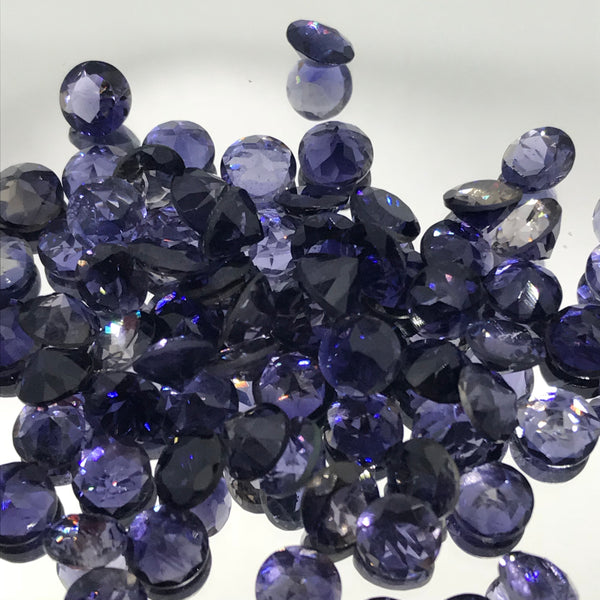 Iolite 8X10 MM Oval Faceted Cut