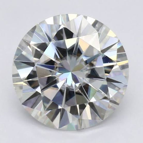 Moissanite 4MM Round Cut