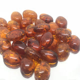 Amber 10x14 Oval Cabochon