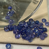 Tanzanite 4X6 MM Oval Cabochons