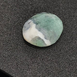 Moss Agate Free Form Polki/ Rose cut