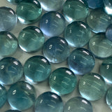 Fluorite 10 MM Round Cabochons