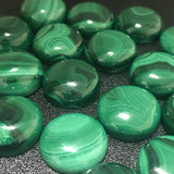 Malachite 18 MM Round Cabochons
