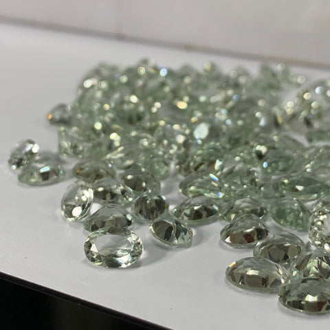 Prasiolite 5X7 Oval Faceted