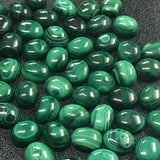 Malachite 7x5 MM Oval Cabochons