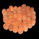 Orange Moonstone 8X10 MM Oval Cabochons Quality Gemstone