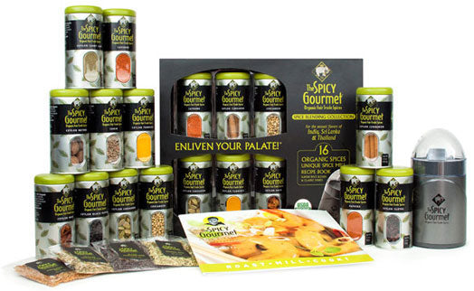 The Spicy Gourmet Complete Blending Collection