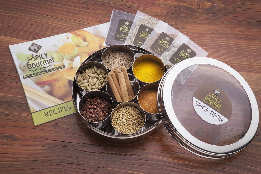 Spice Tiffin Gift Set - Free Shipping!