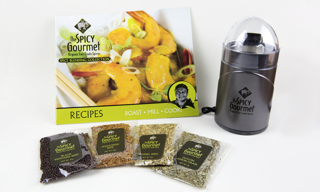 The Spicy Gourmet Spice Mill Set - Free Shipping!