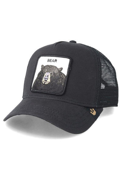 Black Bear Trucker Cap