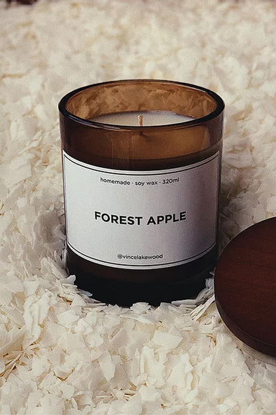 Forest Apple Candle