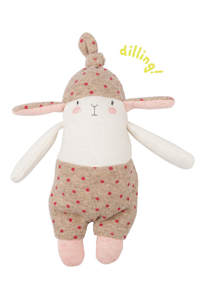 Les Petits Dodos  Spotted Rabbit Rattle