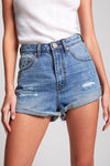 Bandit High Waist Denim Short