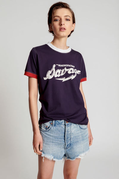 Magnificent Savage Organic Ringer Tee