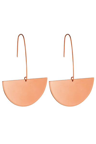 Termoli Rose Gold Earrings