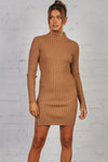 Blinded Ribbed Dress