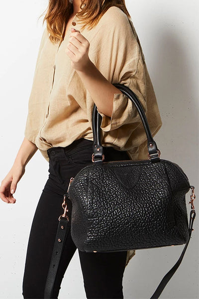 Force Of Being Bag Bubble Leather