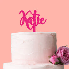 Load image into Gallery viewer, Personalised Name Only Cake Topper
