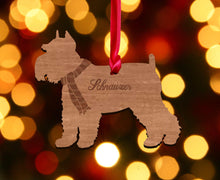 Load image into Gallery viewer, Personalised Dog Christmas Tree Decoration