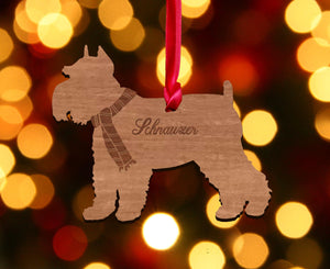 Personalised Dog Christmas Tree Decoration