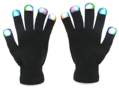 7-Mode LED Gloves (USD$0.10)  DIME SALE TODAY)- Instagram_Promo****
