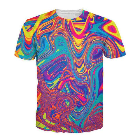 PSYCHEDELIC COLOR TEE