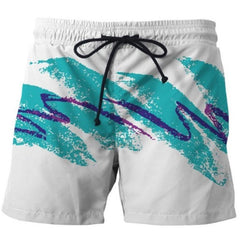 CASUAL 3D BOARD SHORTS