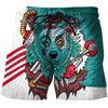 Image of 3D COLORFUL BEAR SHORTS