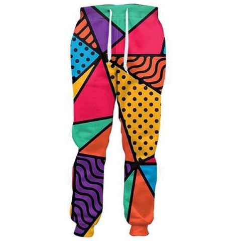 ABSTRACT COLOR SWEATS