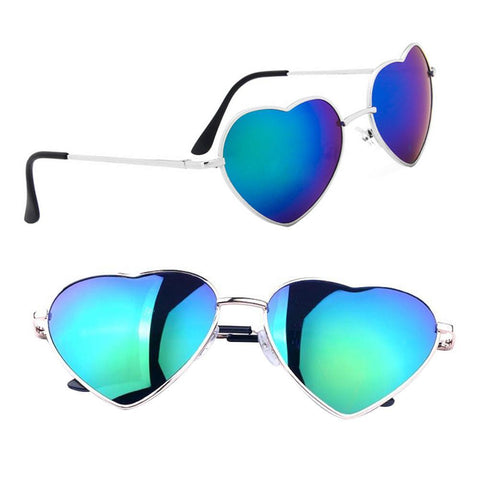 Retro Heart Shades