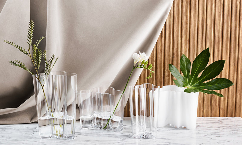 Alvar Aalto's Iconic Vase Collection Reinvented