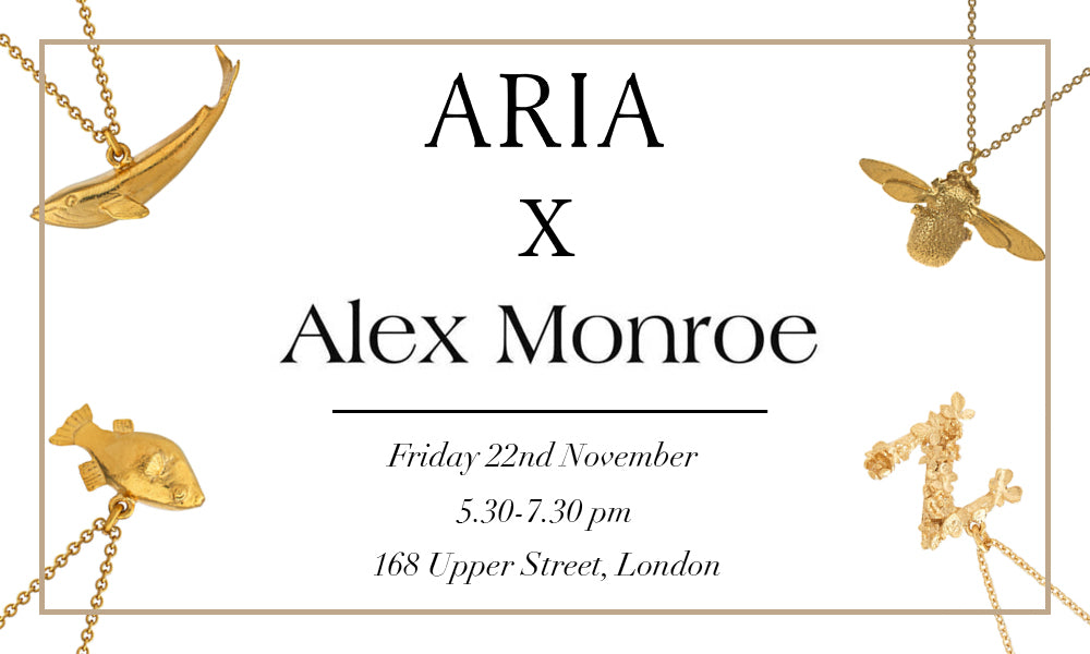 Personalised Jewellery Evening with Alex Monroe