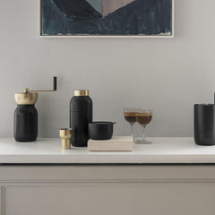 Stelton cocktail shaker and cup