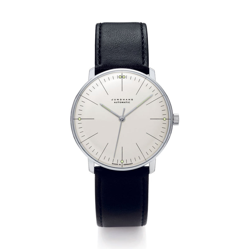 max-bill-automatic-gents-watch-white-face