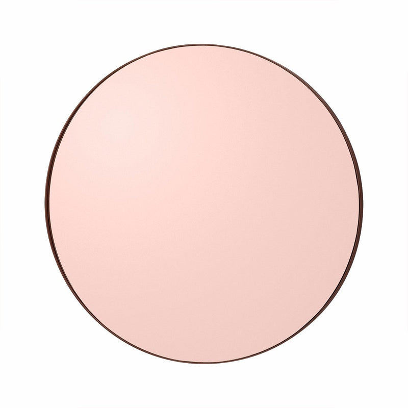 Circum Round Mirror Small, Rose Gold by Aytm