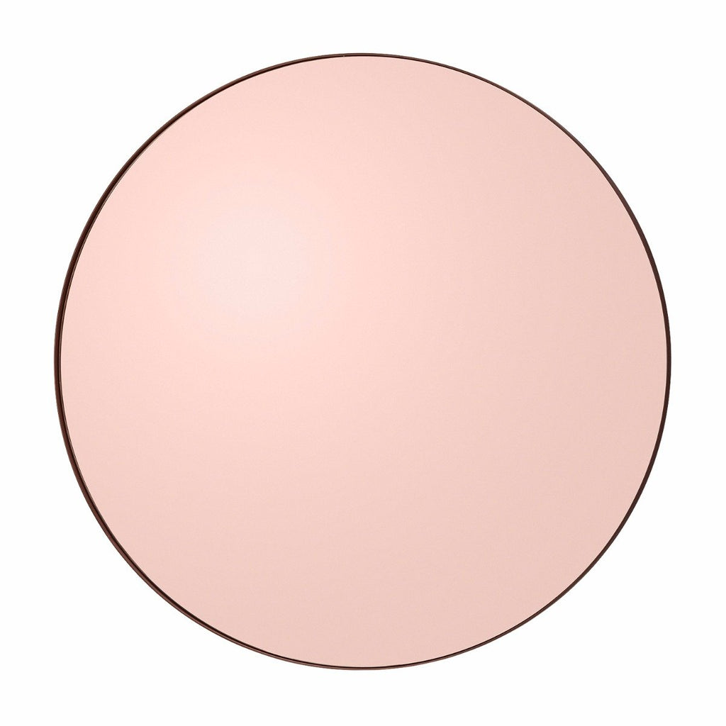 Circum Round Mirror Medium, Rose Gold by Aytm