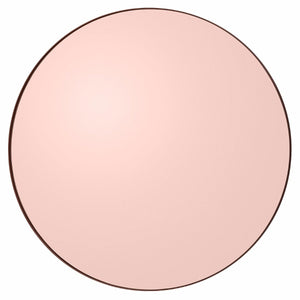 Circum Round Mirror Large, Rose Gold by Aytm