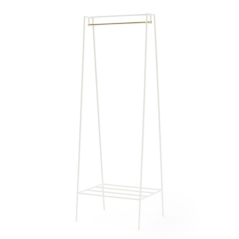 A' Clothes Rail - Brass Pole
