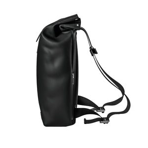 Pickwick Roll Top Backpack, Remade Black