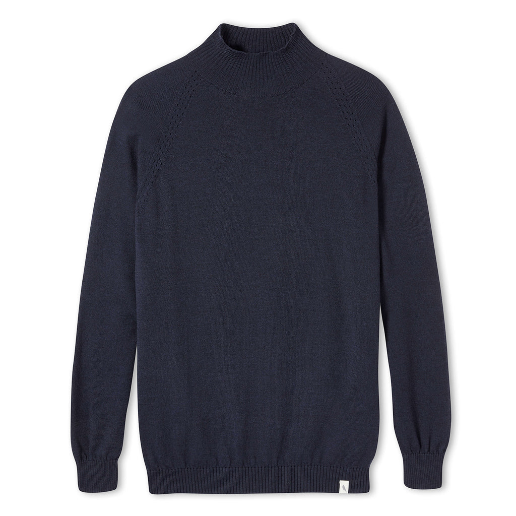 Beaufort Funnel Neck Jumper