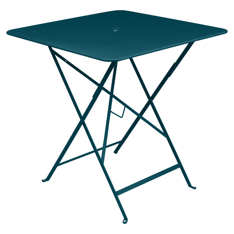Bistro Square Metal Table, 71cm