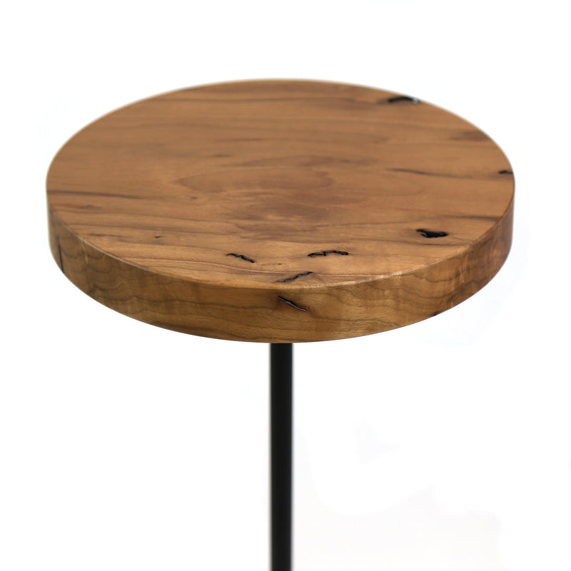 Chanterelle Table, Walnut & Black