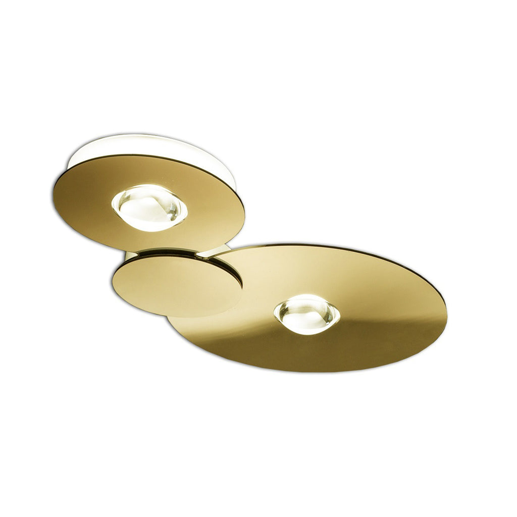 Bugia Double Ceiling Light, Gold