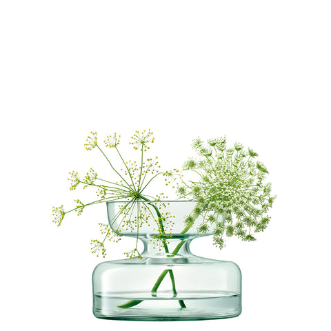 Glass Plant Funnel Pot 21.5cm