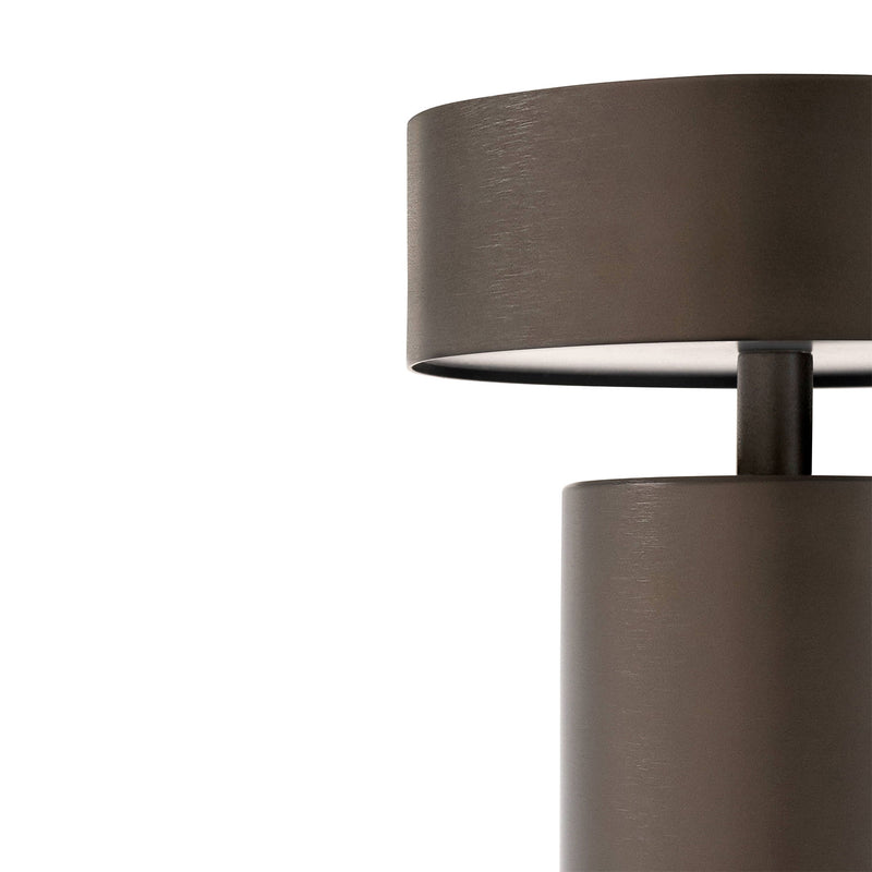 Column Table Lamp, Bronze