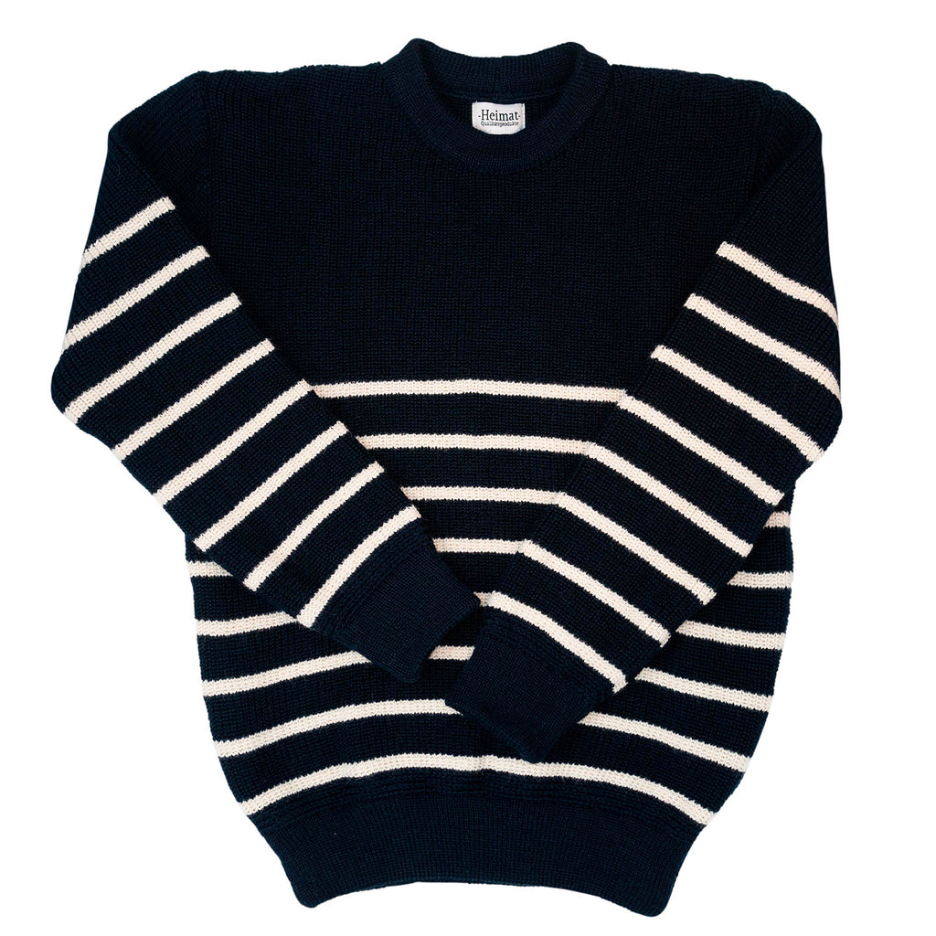 Mariner Crewneck Jumper, Ink