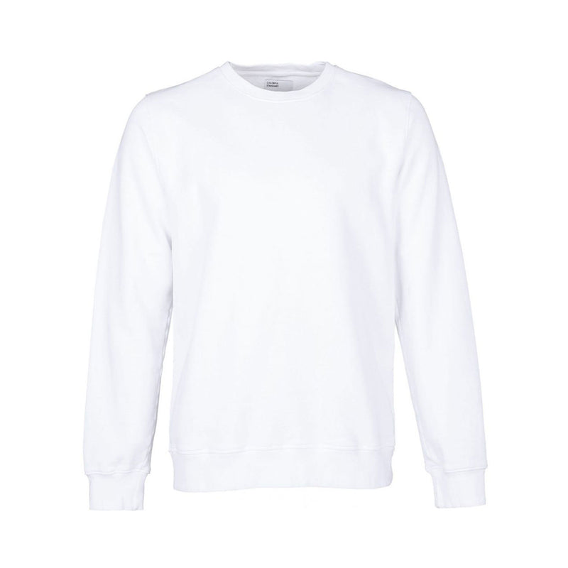 Classic Organic Unisex Crewneck Sweatshirt, Optical White
