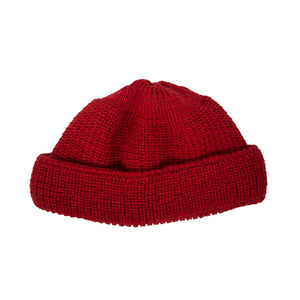Wool Deck Hat, Red