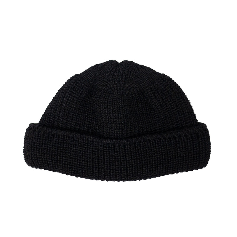 Wool Deck Hat, Black